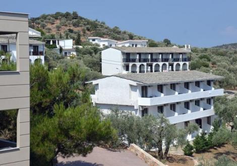 Почивка в Aeria Hotel, о. Тасос, на цена от 38.30 лв.