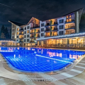 Хотел Арте Спа и Парк 5* - луксозна почивка във Велинград! Нощувка със закуска и вечеря + вътрешен минерален басейн с външна зона, детски басейн, Спа и Уелнес център!!!