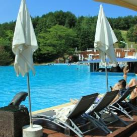 Най-добрата цена за почивка в Сандански - Апарт хотел Медите!!! Нощувка със закуска + вътрешен и външен минерален басейн, Спа център и детски кът на цени от 22.50лв. на човек на ден!!!