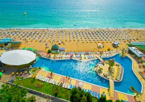Невероятно лято на първа линия - хотел Морско Око Гардън ****! Нощувка на база All inclusive + чадър и шезлонг на плажа и басейна + детска анимация!!!
