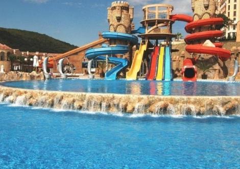 лято на метри от плажа - Вили Елените ****! Нощувка на база All inclusive + чадър и шезлонг на плажа и басейна + безплатен вход за Аквапарк + детска и вечерна анимация!!!