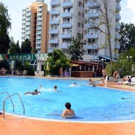 ALL INCLUSIVE ПОЧИВКА НА ТОП ЦЕНИ В Несебър - хотел Арсенал, близо до плажа! Нощувка на база All inclusive + чадър и шезлонг на басейна!